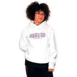 Avenue Kohlsen Amnesia Hooded Sweatshirt White Levi Cash Jones
