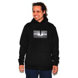 Avenue Submit Hooded Sweatshirt Black Sean Caio