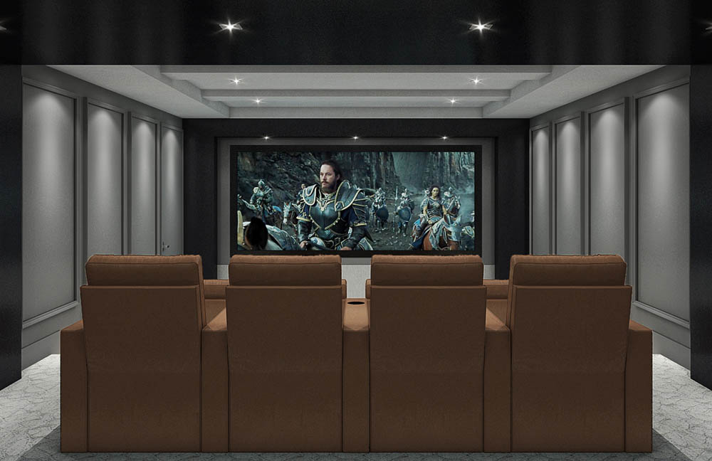 St. Clair | Custom Home Theater Design by Avenue Theater