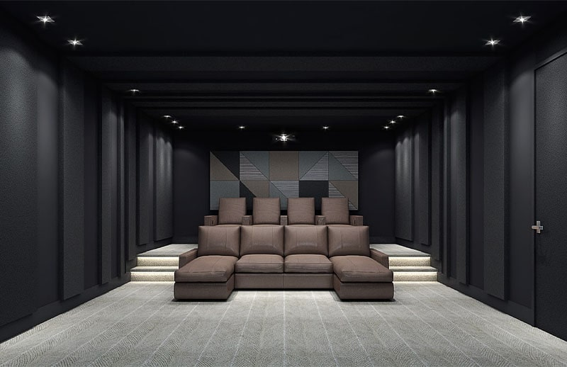 Lawrence Ave | Custom Home Theater Designs by Avenue Theater