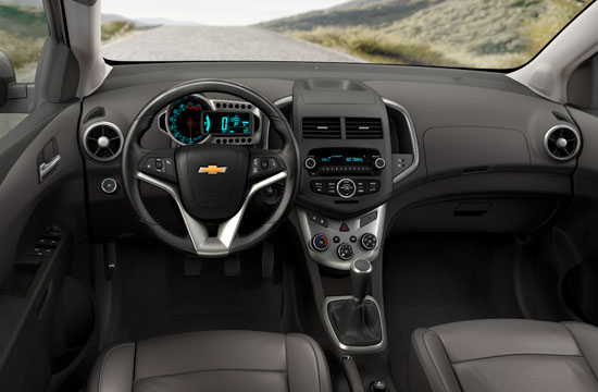 2012 Chevy Sonic Photos Interior And Exterior GM Canada