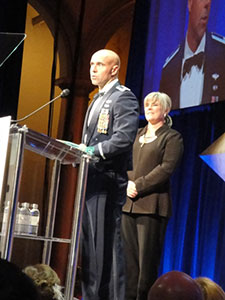 LT Col. Victor Fehrenbach, recipient of the 2010 Barry Winchell Courage Award