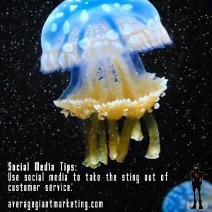 Customer-service-sting social media tips