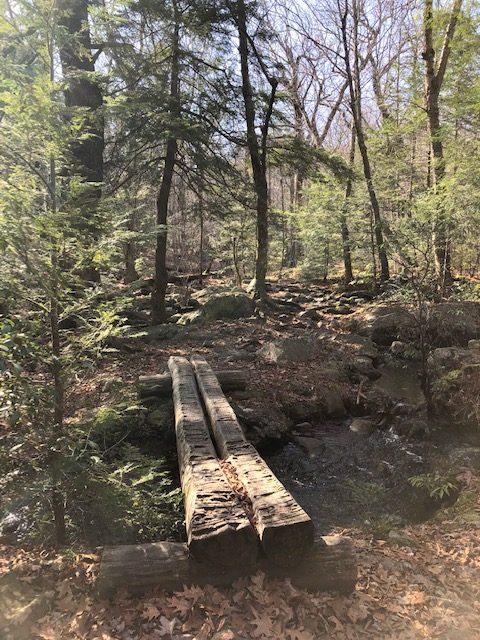 Creek Crossing Between Bear Mountain and Lions Head