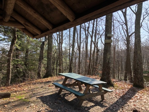 Brassie Brook Shelter on the Appalachian Trail