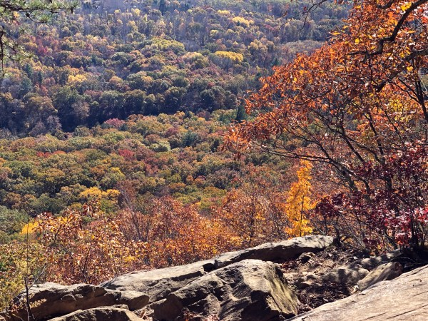 Fall Hike to St. John's Ledges on the Appalachian Trail