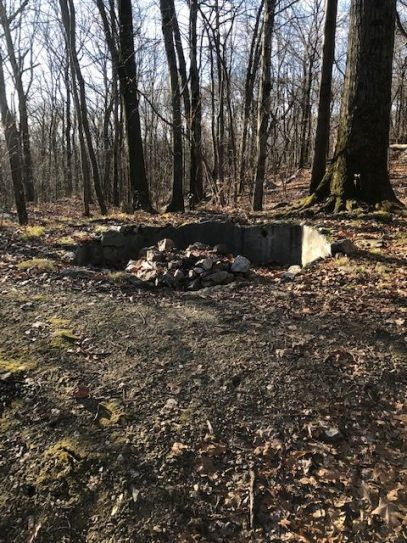 Old Foundation by Morgan Stewart Shelter