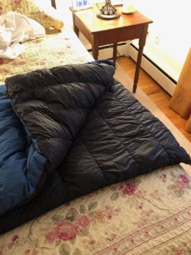 Nunatak Arc 30 Degree Quilt