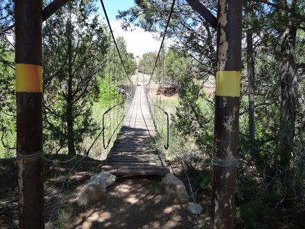 Bridge Near Ghost Ranch