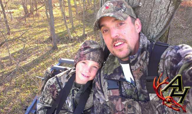 Matt Staser and Aiden - Average Hunter Matt