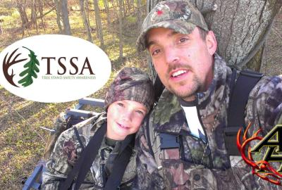 Treestand Safety Father Son Hunting