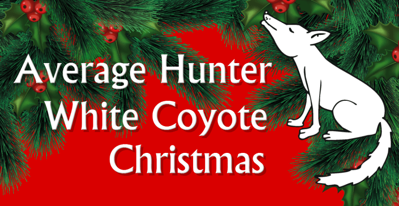 white coyote christmas