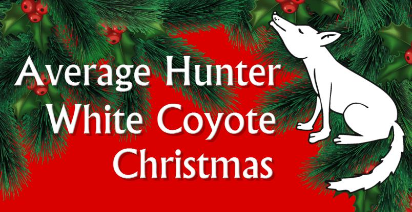 white coyote christmas
