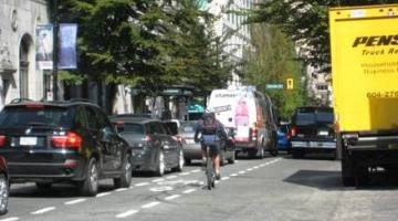 Surprise – most people SUPPORT a separated bike lane on Hornby!