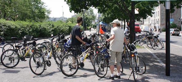 Il y a beaucoup d'options pour la location de vélos à Montréal