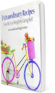 Lose weight cycling - Recipe Book Cover