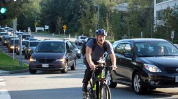 Sea to River Bike Route in Burnaby – If a Bike Route is full of Cars, is it Still a Bike Route?