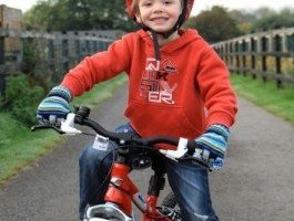 7-Year-Old Boy on Bike Run Over by Cab Should Have Been More Careful!