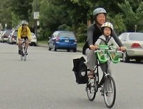Research reveals a surprising benefit of separated bike lanes