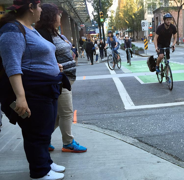 It's kind of hard not to notice the difference – a lot of cyclists do seem to be in better shape than a lot of non-cyclists. can cycling cure obesity main photo