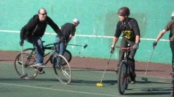 Bike Polo in East Vancouver