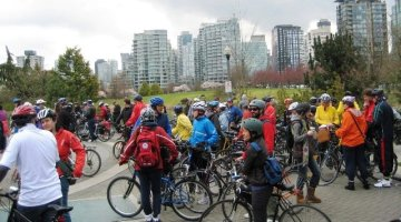 Magical Moments in Vancouver Cycling – and a Very Happy New Year!
