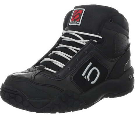 My second favorite Five Ten cycling shoes are these black boots