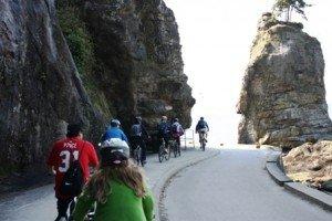 Stanley Park Seawall Bike Trail.