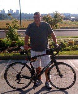 Al and his bike