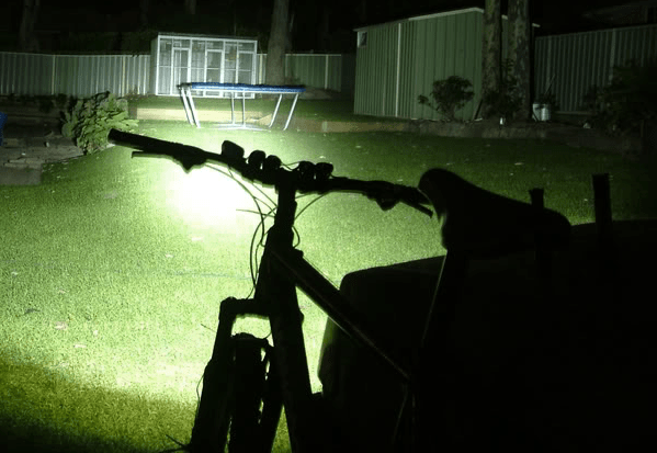 Good bike lights should light your way, even in pitch darkness