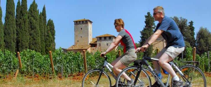 Cycling in Tuscany - bike honeymoons