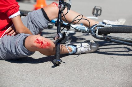 Cycling injury