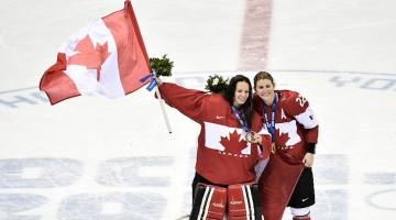 Go Canada Go! The Canadian Women's Hockey Team – Be the Champion of your Own Life!