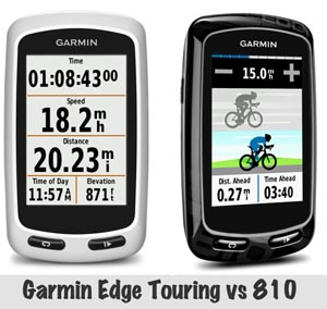 Click on the image above to read Garmin Edge Touring vs 810