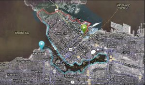 Map Seaside Route Part 1 Average Joe Cyclist