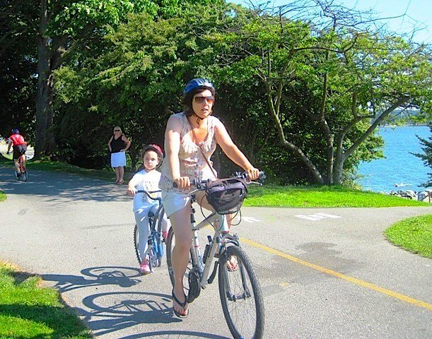The Seaside Bike Route is fun for the whole family