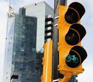 Bike traffic lights are wonderful!