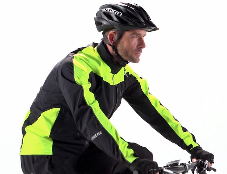 Gore Bike Wear Countdown GT Jacket-on rider