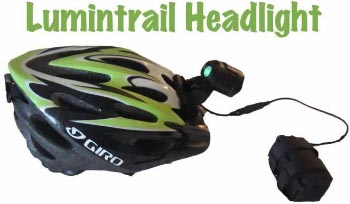 How to set up a commuter bike. This is the Lumintrail Headlight, which I highly recommend