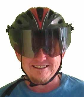 Wide-Eyez All-Weather Bike Helmet Shield