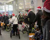 Bikes-donated-Pan-Pacific-Dominion-2