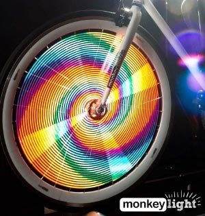 Monkeylectric lights are safe, FUN, durable, versatile, and cheap