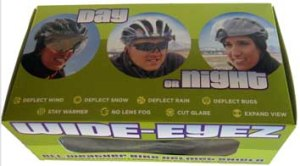 Wide-Eyez Bike Helmet Shield