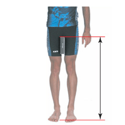 Bike Frame Size Guide. This is your inseam length - one of the three important measurements for choosing the right bike frame size