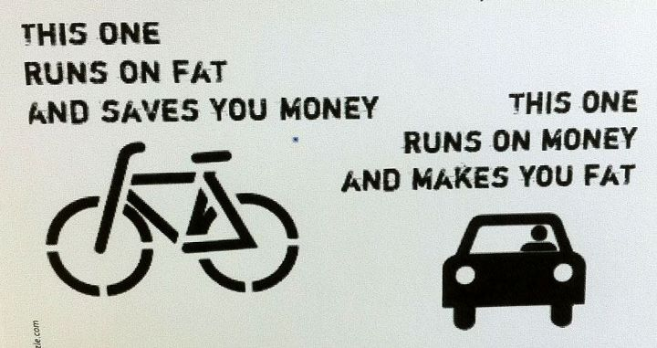 bikes run on fat