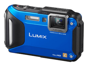The Lumix DMC-TS5 is the perfect point and shoot, rugged adventure and underwater camera for cyclists