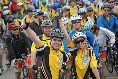 Join a team that makes a difference! enbridge ride to conquer cancer 2015