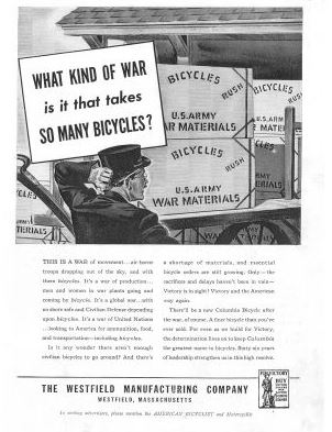 What Kind of War is it that takes SO MANY BICYCLES? Bikes in history - Memorial Day