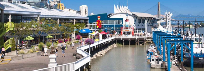 Once you reach the end of the Central Valley Greenway, the New Westminster quay offers plenty to see and do, including a River Market where you can buy food, and a variety of restaurants, from outdoor pubs to fine dining