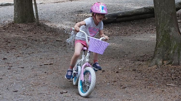 Bike Frame Size Guide. On a bike of the right size, a child can get out and have fun!